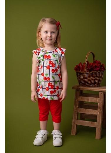 Mininio Kırmızı Cherry Desenli T-Shirt ve Tayt Takım (9ay-4yaş) Kırmızı Cherry Desenli T-Shirt ve Tayt Takım (9ay-4yaş) Kırmızı